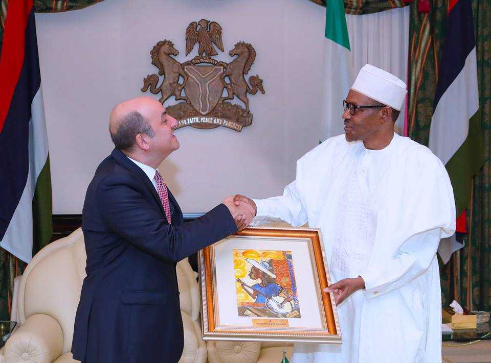 35264742 1729188477173485 4653526151010975744 n - PHOTOS: President Buhari Receives Outgoing Ambassador of Ethiopia and Turkey