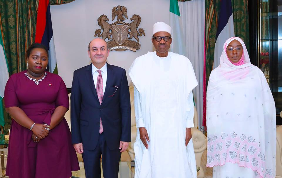 35270087 1729188453840154 1679851719095222272 n - PHOTOS: President Buhari Receives Outgoing Ambassador of Ethiopia and Turkey
