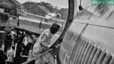 Buhari Plane