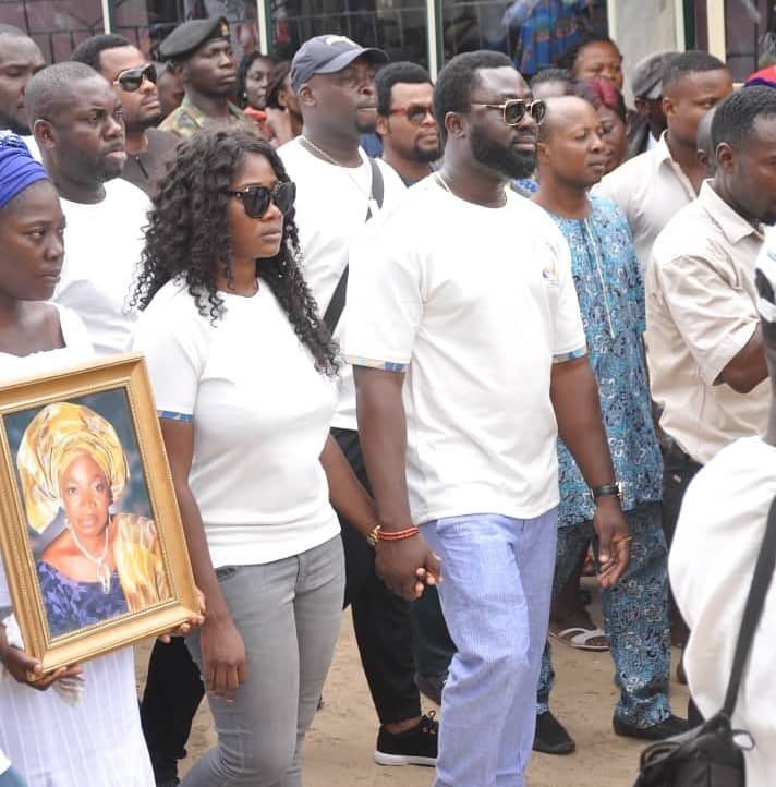 36149370 1800898953322343 3074356827635318784 n - PHOTOS: Mercy Johnson's Mother Laid to Rest