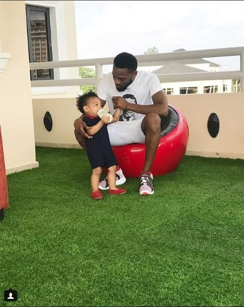 Photo of PHOTOS: D'banj Spends Quality Time With His Son, Daniel Oyebanjo III