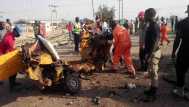 Boko Haram Twin Suicide Bomb Blast in Maiduguri 390x220 - Two Suicide Bombers Hit Crowded Military Market In Borno