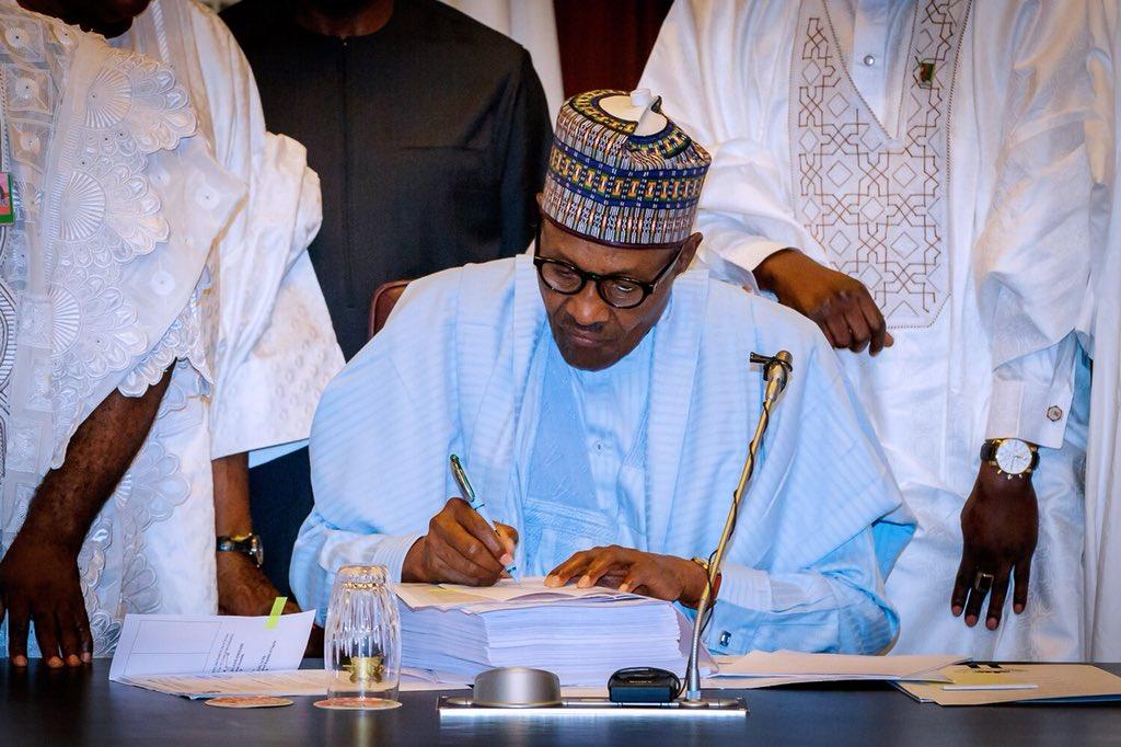 Buhari 2018 Budget 1 - President Buhari's Speech at 2018 Budget Signing (READ)