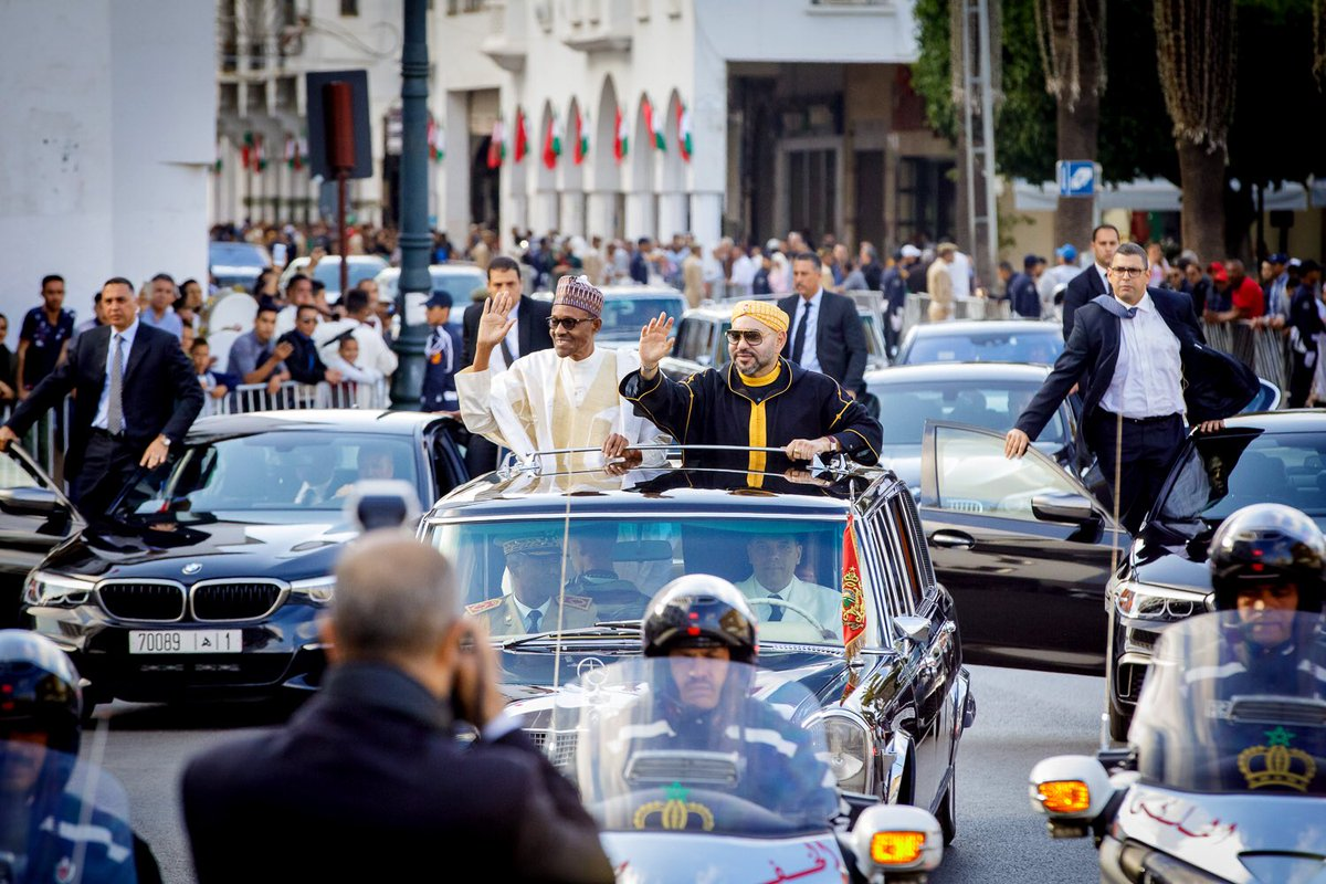 Photo of PHOTOS: President Buhari Arrives Morocco In Grand Style