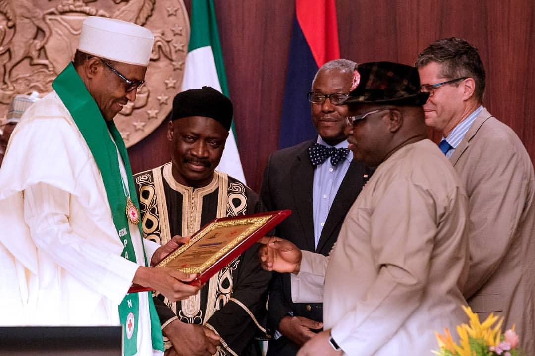 President Buhari Becomes Grand Patron of Nigerian Red Cross Society