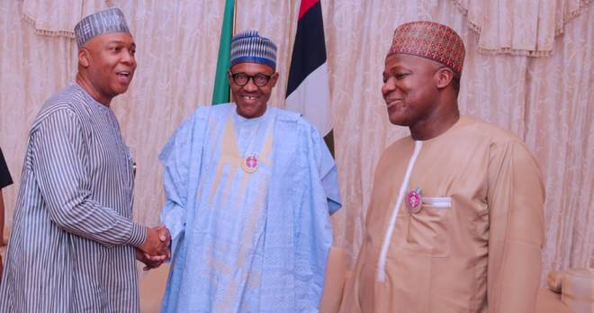 Photo of Saraki, Dogara Meets Buhari Over Killings In Plateau State