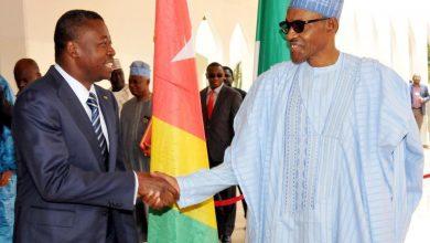 Buhari Togo President  390x220 - President Buhari In Katsina, Receives Togolese President