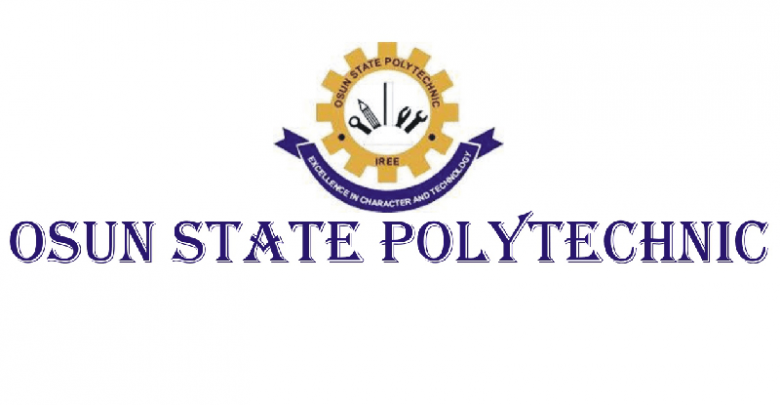 Photo of Osun State Polytechnic, Iree 2018/2019 HND Admission Announced