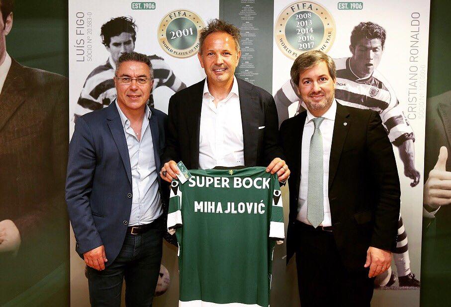 Df 99UCX4AEYsD7 - Siniša Mihajlović Named As Sporting Lisbon Head Coach