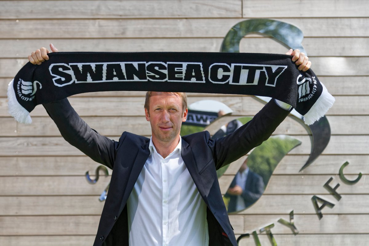 DfamLzpW4AAcX7I - Graham Potter Named As New Swansea City Manager