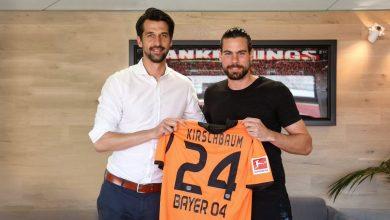 DgnWYPYXcAIEY 7 390x220 - Transfer News: Nuremberg goalkeeper, Thorsten Kirschbaum joins Bayer Leverkusen