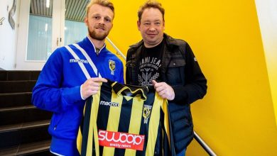 Former Hull City left back Max Clark who has signed for Eredivisie outfit Vitesse Arnhem with coach Leonid Slutsky  390x220 - Transfer News: Max Clark joins Vitesse Arnhem from Hull City