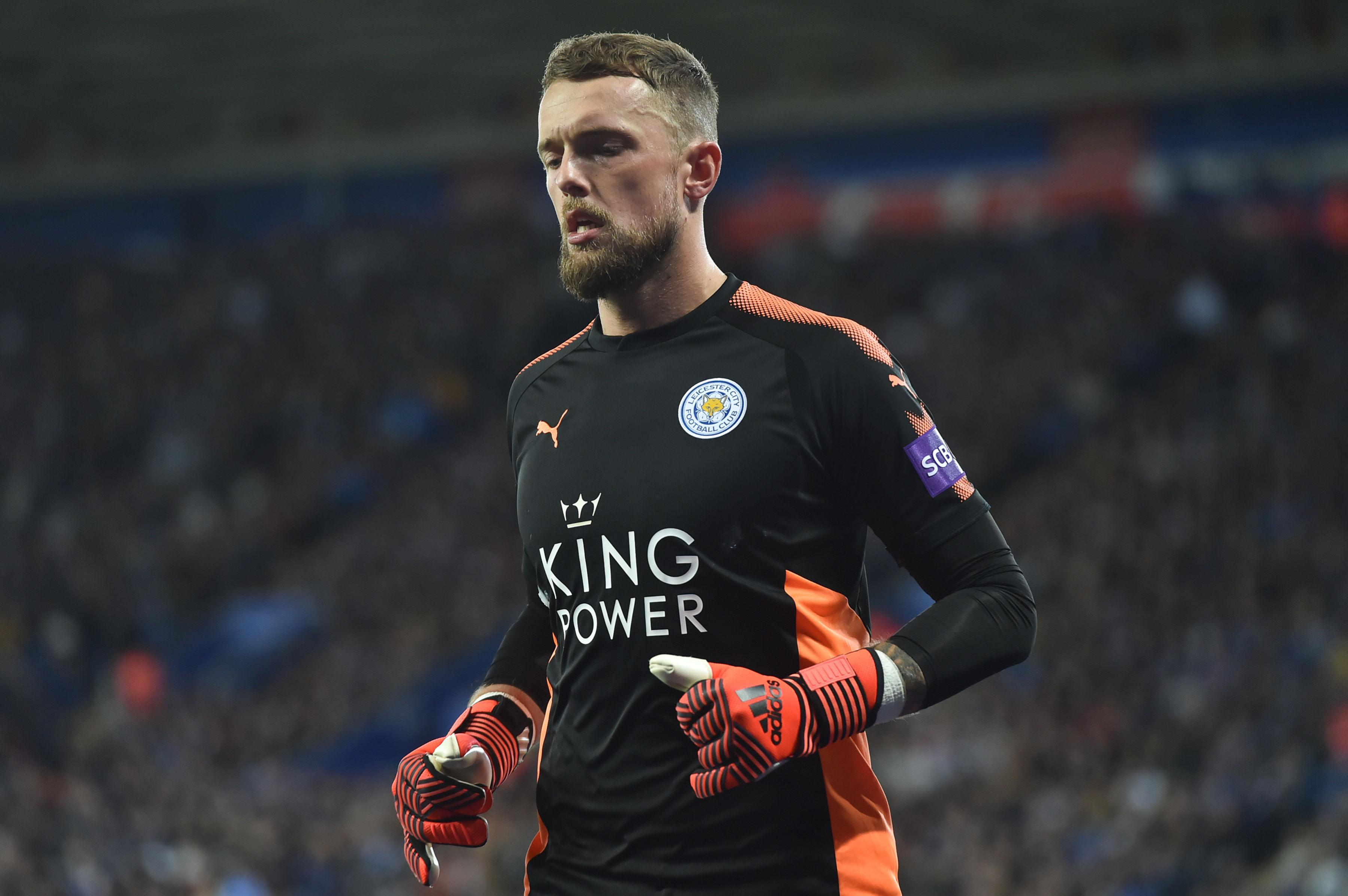 Photo of Huddersfield Town sign Ben Hamer from Leicester City
