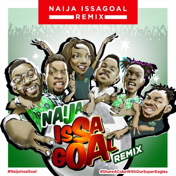 Photo of MUSIC: Marley, Olamide, Lil Kesh, Falz, Slimcase, Simi – Naija Issagoal (Remix)