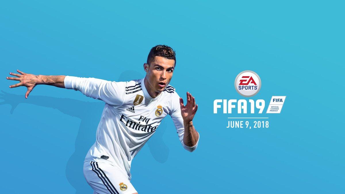 Cristiano Ronaldo covers FIFA 19