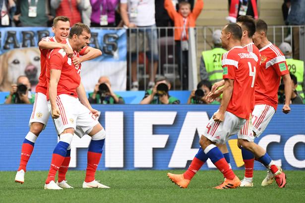 Russia vs Saudi - Russia Thrash Saudi Arabia 5-0 in 2018 FIFA World Cup Opener