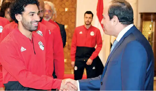 Photo of Mohamed Salah Joins Egypt World Cup Squad in Cairo