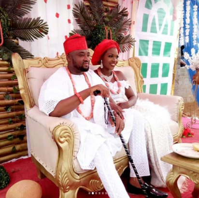 a4 7 - PHOTOS: Traditional Marriage of Nollywood Actor, Chuks Omalicha
