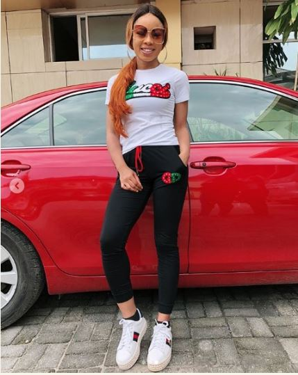 niaa3 - #BBNaija: Nina Looking Hot As She Pose With Her New Car (Photos)