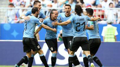 uruguay cropped 2y9j8vz1hvqg1l9v91u8of7mo 390x220 - VIDEO: Uruguay 3-0 Russia (2018 World Cup) Highlights
