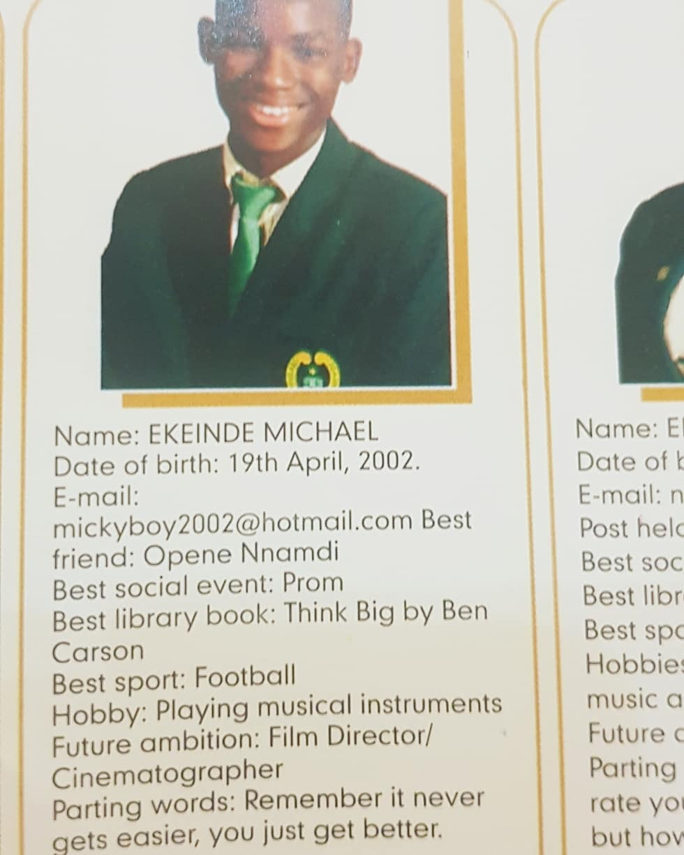 PHOTOS: Omotola's Son, Michael Graduates From Secondary School