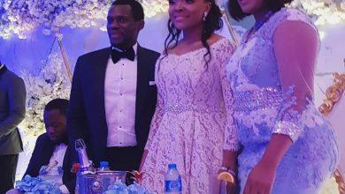 PHOTOS: Omotola Jalade-Ekeinde At Olusoji Jacob & Blessing Douglas Wedding