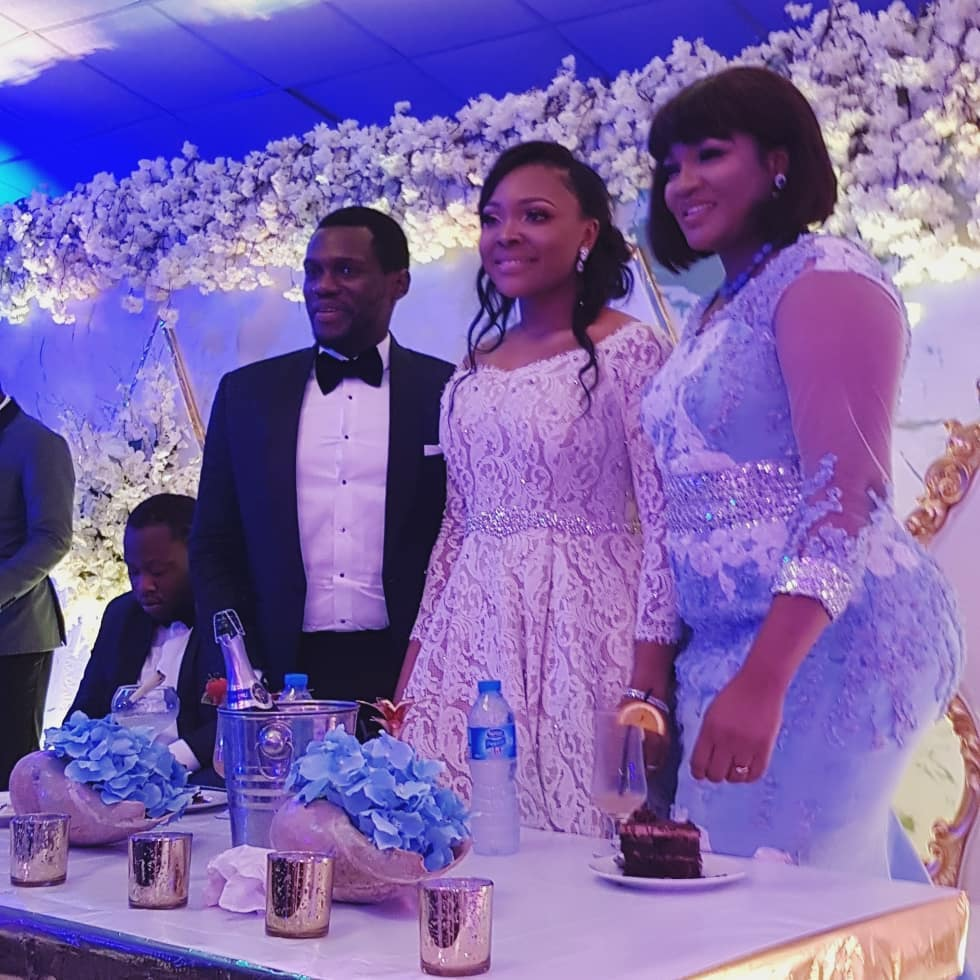 Photo of PHOTOS: Omotola Jalade-Ekeinde At Olusoji Jacob & Blessing Douglas Wedding