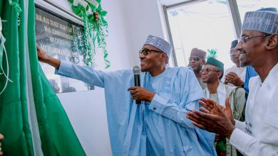 Buhari Rail Abuja 1 390x220 - PHOTOS: President Buhari Commissions $830m Abuja Light Rail