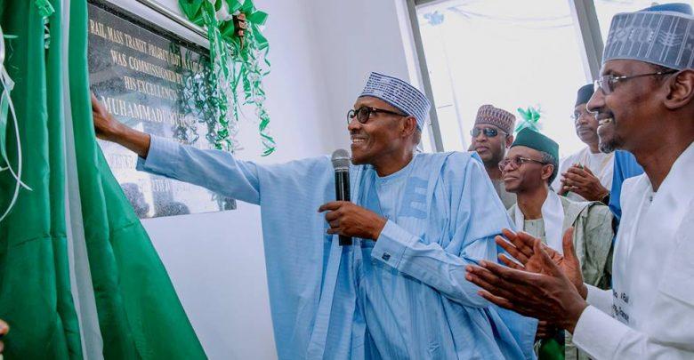 Photo of PHOTOS: President Buhari Commissions $830m Abuja Light Rail