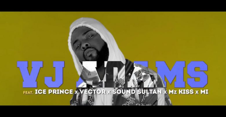 Photo of VIDEO: VJ Adams – Define Rap Ft. Ice Prince, Vector, Mz Kiss, M.I. Abaga & Sound Sultan