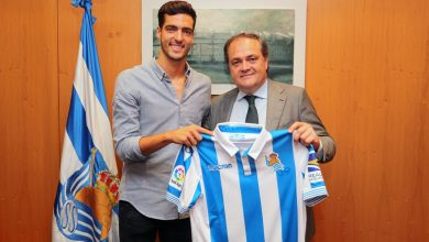 Dh6 IDlW4AIkK6W 390x220 - Transfer News: Real Sociedad sign Mikel Merino from Newcastle
