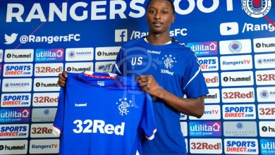 DhwlQ2DXkAMkUgQ 390x220 - Transfer News: Rangers sign Nigerian striker Umar Sadiq from AS Roma