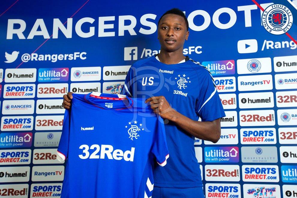 Transfer News: Rangers sign Nigerian striker Umar Sadiq from AS Roma - OkayNG News