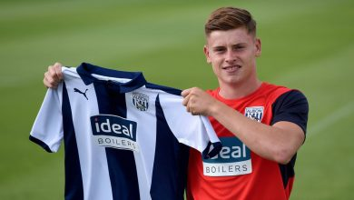 Di4D23mX0AA9yYI 390x220 - Transfer News: West Bromwich Albion sign Leicester City winger Harvey Barnes