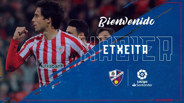 Di6ACIeW0AA45ZJ - Transfer News: Huesca sign central-defender Xabier Etxeita from Athletic Bilbao