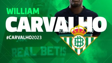 DiAivANW4AExZ27 390x220 - Transfer News: Real Betis complete the signing of William Carvalho