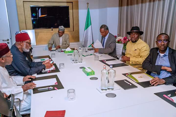 DiLOSNBWsAAIEsw - PHOTOS: President Buhari arrives Netherlands ahead of ICC's 20th anniversary