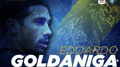 DiOgBudW0AE0meM 390x220 - Transfer News: Frosinone sign centre-back Edoardo Goldaniga from Sassuolo