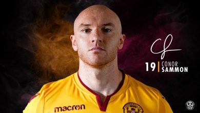 Transfer News: Motherwell sign Conor Sammon from Hearts