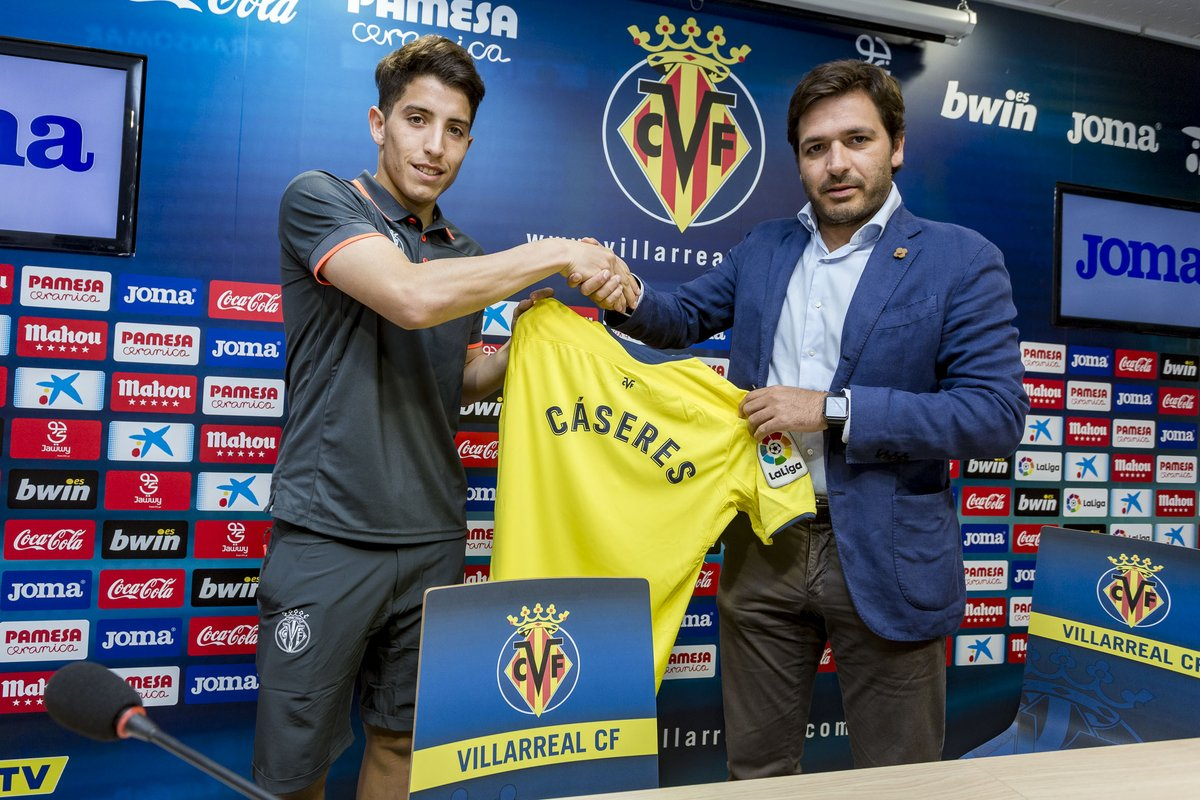 Transfer News: Villarreal sign Argentine midfielder Santiago Cáseres from Velez Sarsfield - OkayNG News