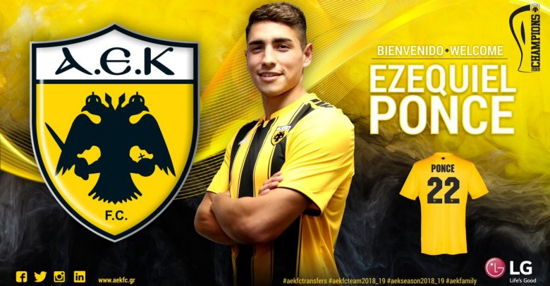 Photo of Transfer News: Argentine striker Ezequiel Ponce joins AEK Athens from AS Roma