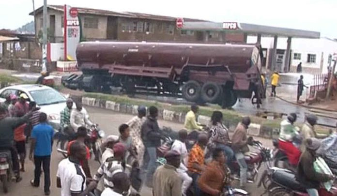 Photo of Tragedy Averted In Ekiti After Tanker Spills Fuel