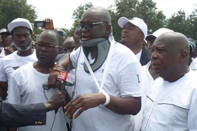 Ekiti: Police Reacts to Attack on Fayose - OkayNG News