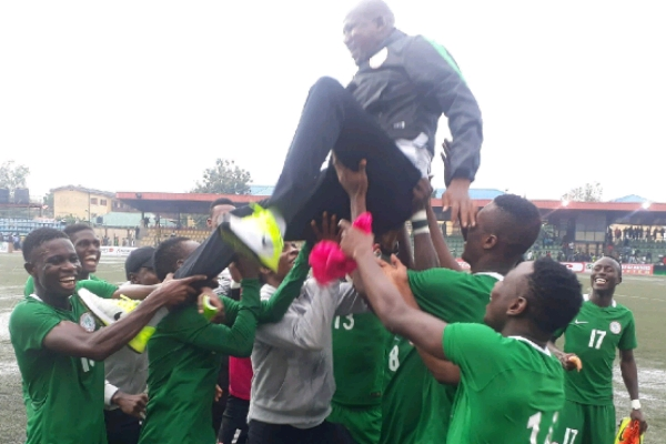 Photo of Flying Eagles Qualify for 2019 AYC, After Defeating Mauritania 5-0