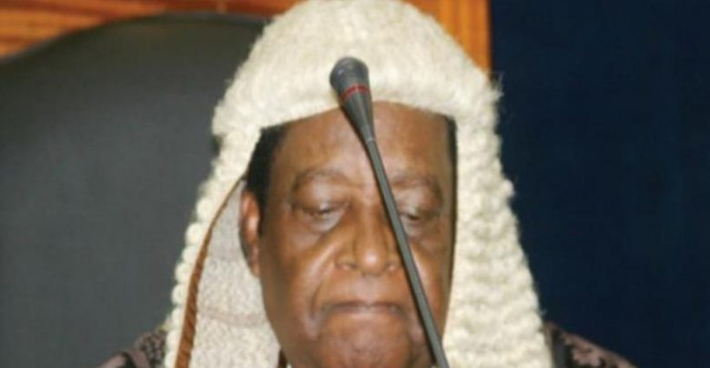 Photo of Former Chief Justice Aloysious Katsina-Alu Is Dead