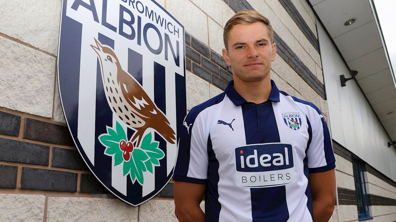 Photo of West Bromwich Albion sign defender Conor Townsend from Scunthorpe United