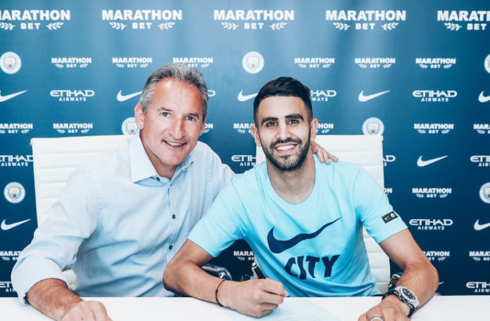 Riyald Mahrez In Manchester City