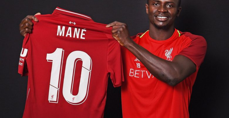 Photo of Sadio Mane Takes Liverpool's Number 10 Jersey