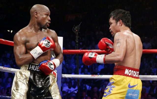 Photo of Manny Pacquiao Calls Out Floyd Mayweather for Rematch
