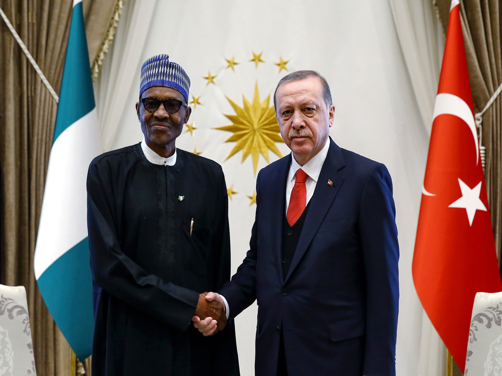 Photo of Buhari Congratulates Erdogan On His Re-election As Turkish President
